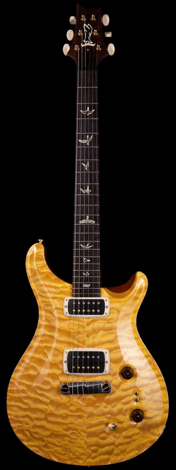 PRS Private Stock 2011 Signature Limited Run 64 of 100 Faded Vintage Yellow