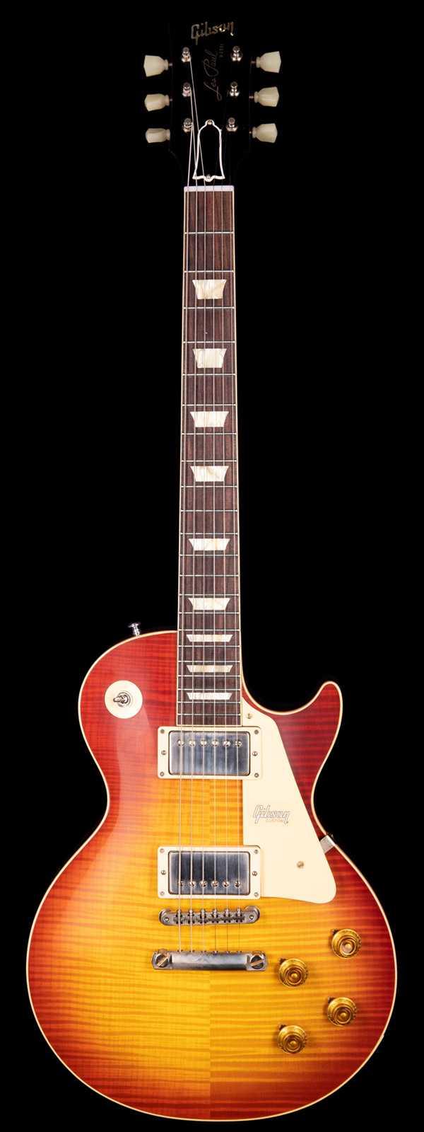 Gibson Custom Shop 60th Anniversary 1959 Les Paul Standard VOS Cherry Teaburst