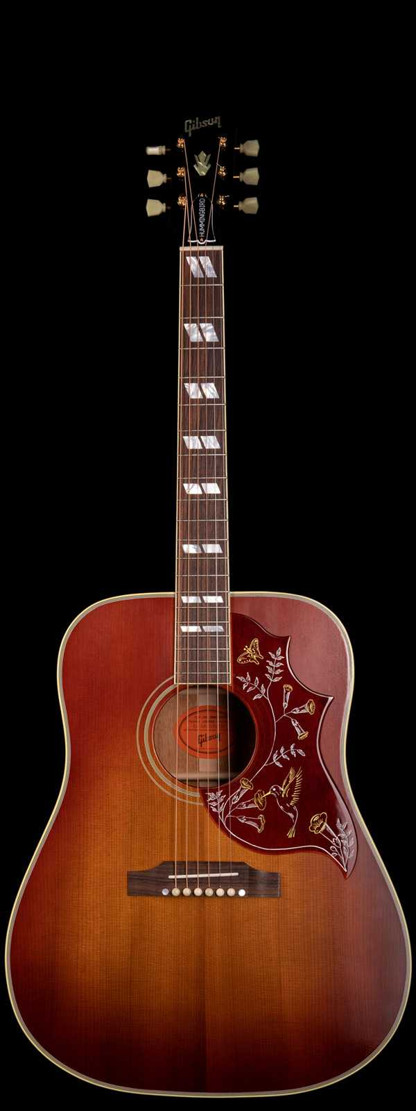 Gibson Custom Shop 1960 Hummingbird Fixed Bridge Heritage Cherry Sunburst VOS