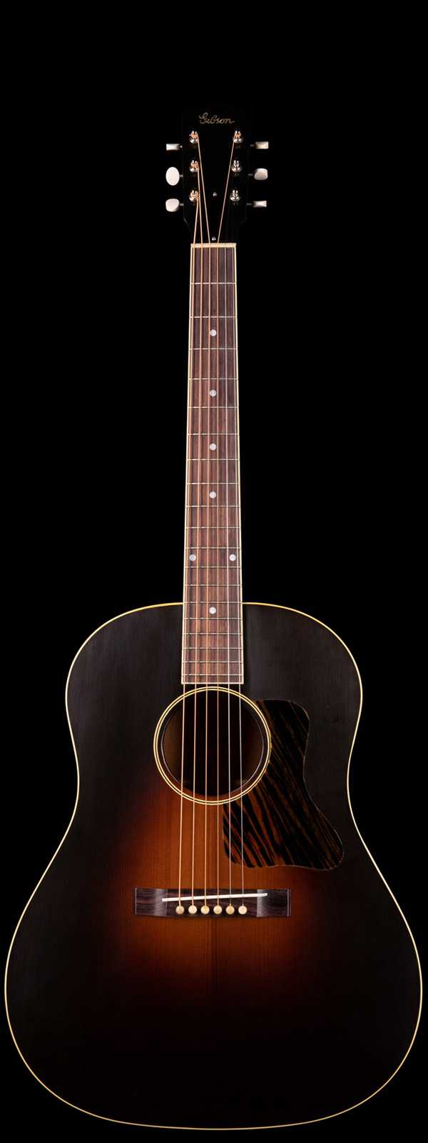 Gibson Custom Shop 1934 Jumbo Thermally Aged Redwood Top Vintage Sunburst VOS