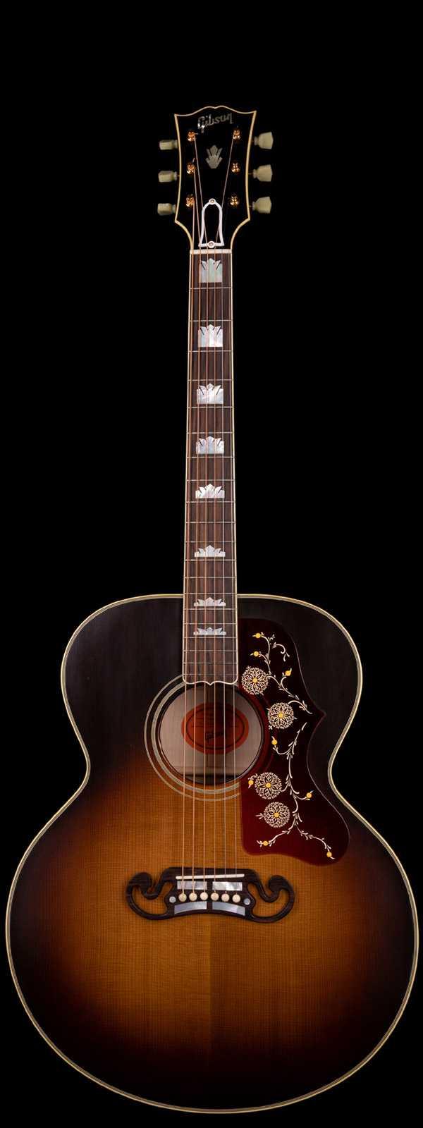 Gibson Custom Shop 1957 SJ-200 Thermally Aged Sitka Spruce Top Vintage Sunburst VOS