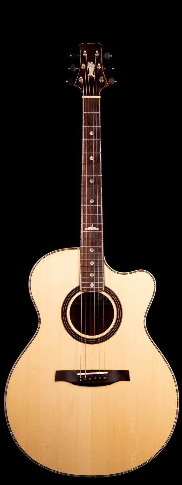 PRS Private Stock 2322 Angelus Adirondack Red Spruce Top with Cocobolo Back and Sides
