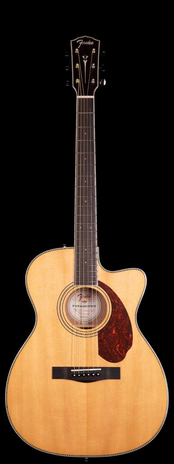 Fender Triple-0 PM-3CE Acoustic Electric Natural Finish
