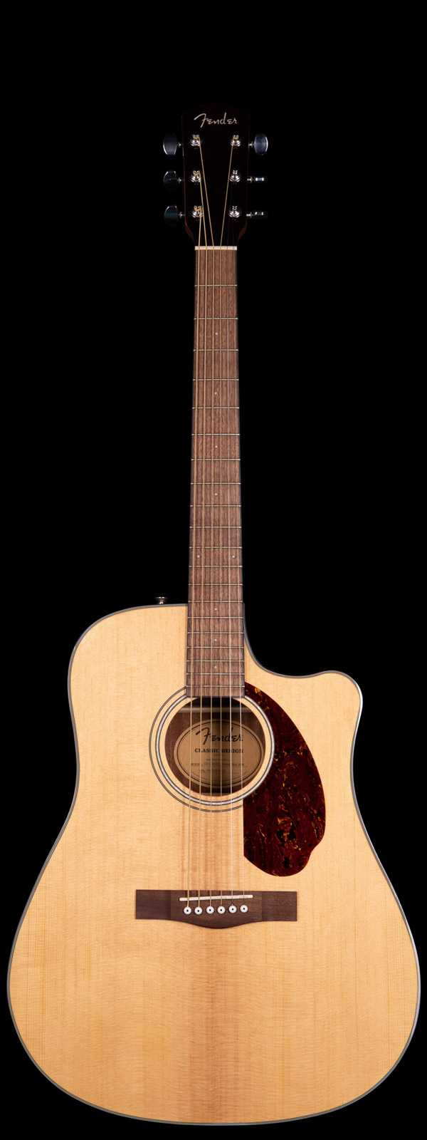Fender Dreadnought CD-140SCE Acoustic Electric Natural