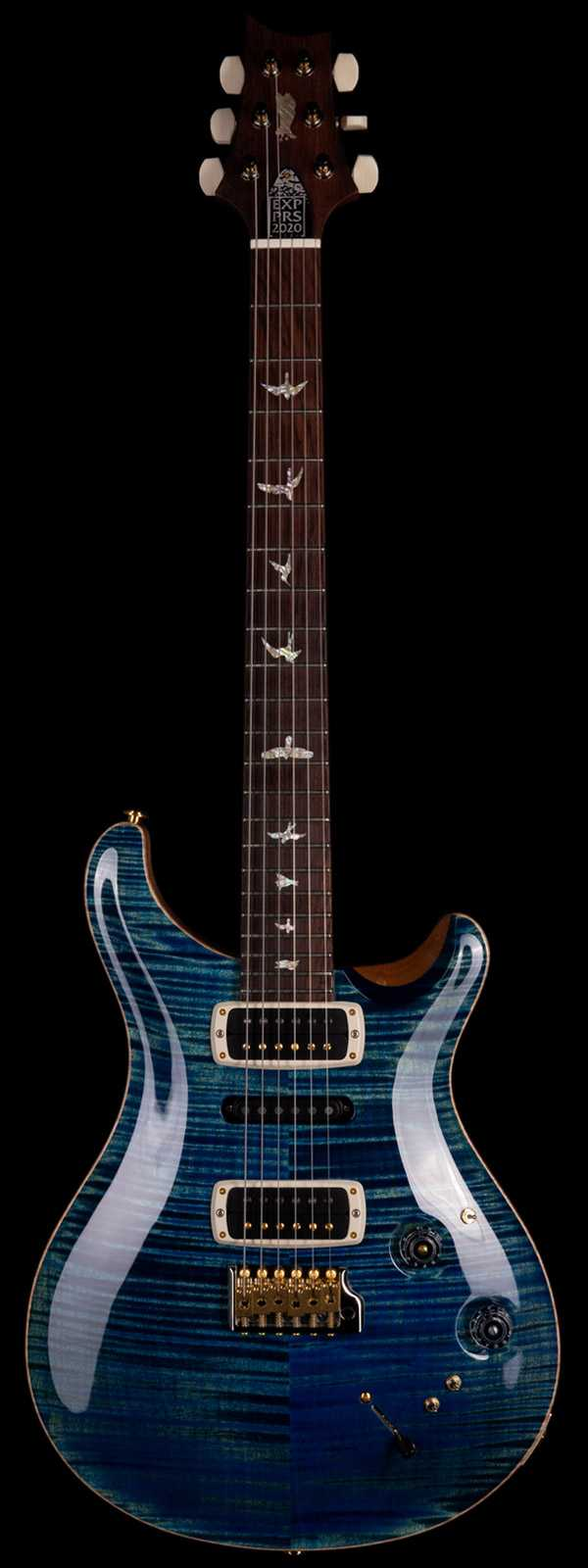 PRS Experience 2020 Modern Eagle V Ten Top River Blue