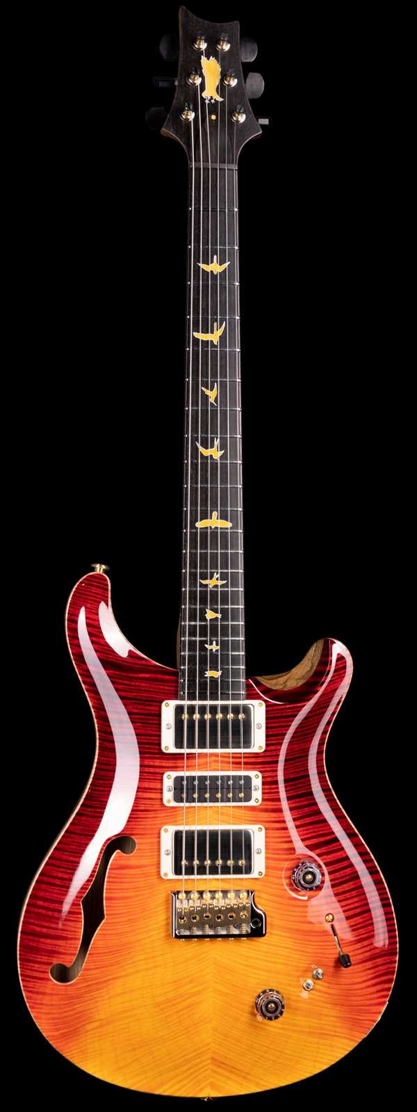 PRS Private Stock 8519 Special Semi-Hollow F-Hole Flame Top Dragons Breath