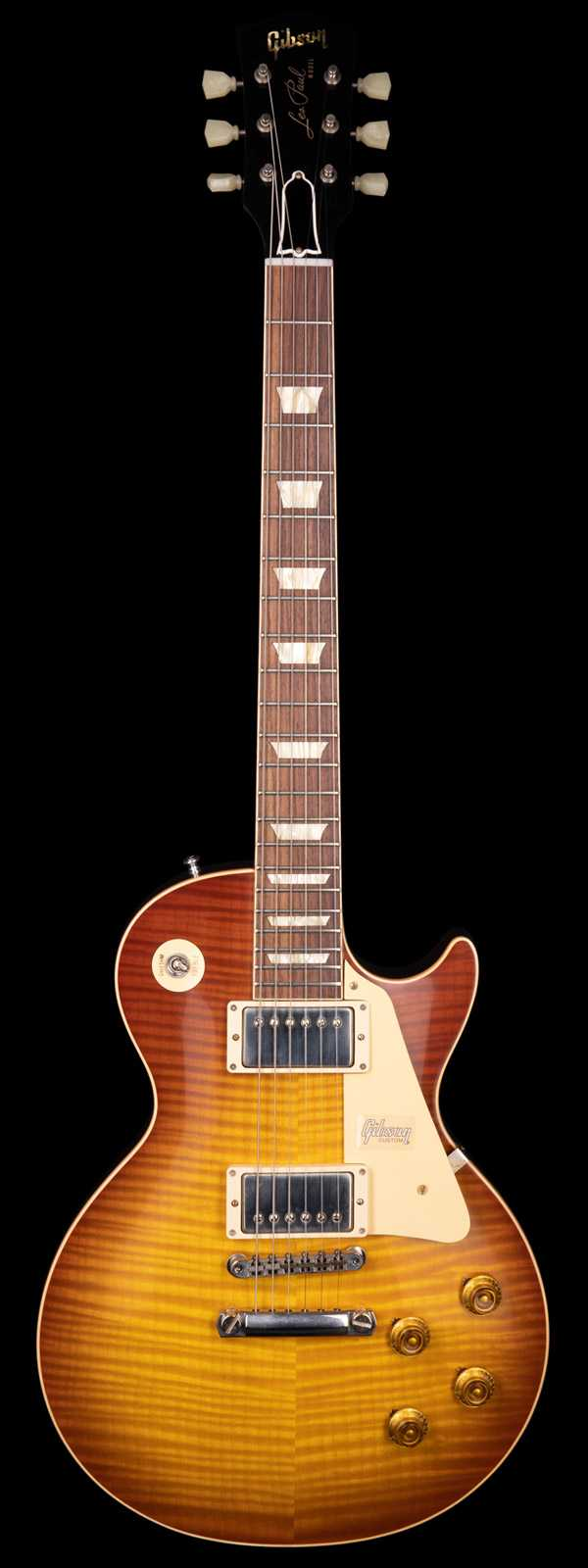 Gibson Custom Shop 60th Anniversary 1959 Les Paul Standard VOS Iced Tea Burst