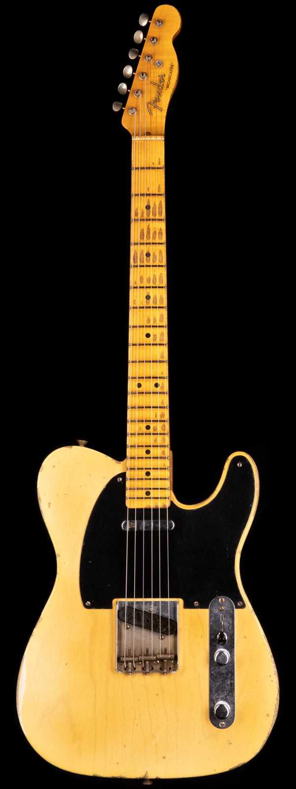 Fender Custom Shop Masterbuilt Kyle McMillin LTD 70th Anniversary Broadcaster Relic Faded Nocaster Blonde