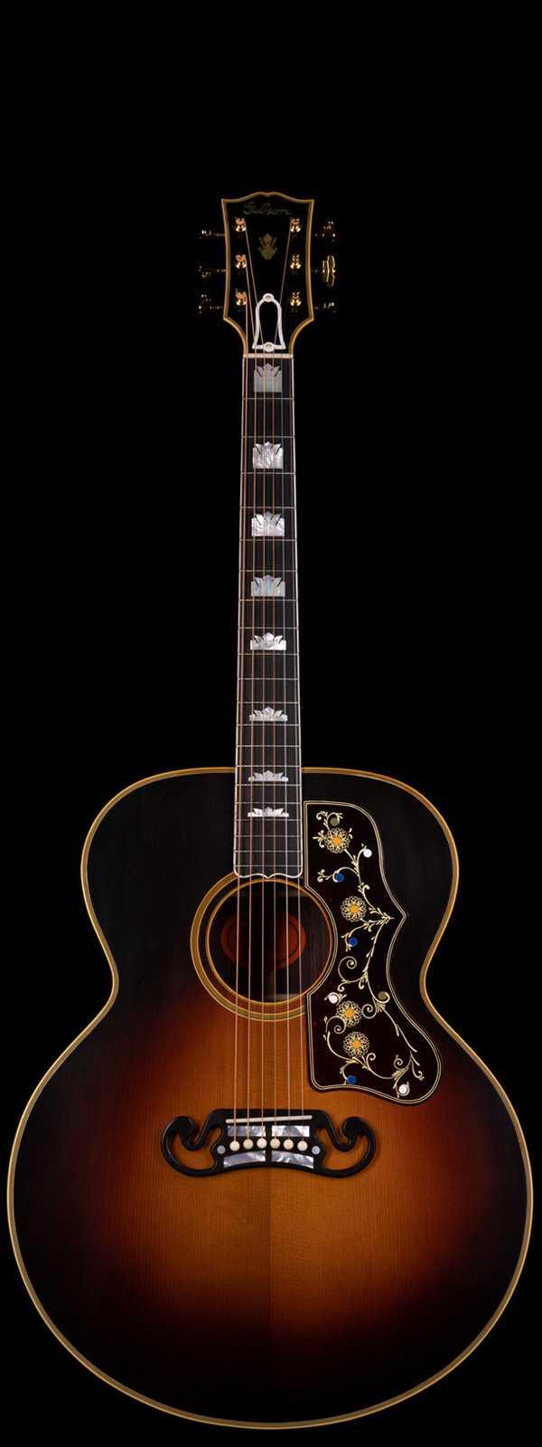 Gibson Custom Shop Pre-War SJ-200 Rosewood Thermally Aged Red Spruce Vintage Sunburst