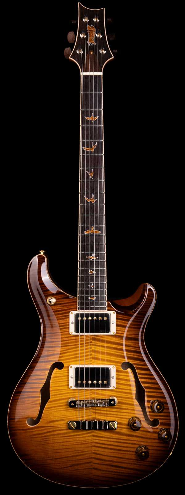 PRS Private Stock 8659 McCarty 594 Hollowbody II McCarty Glow Smoked Burst