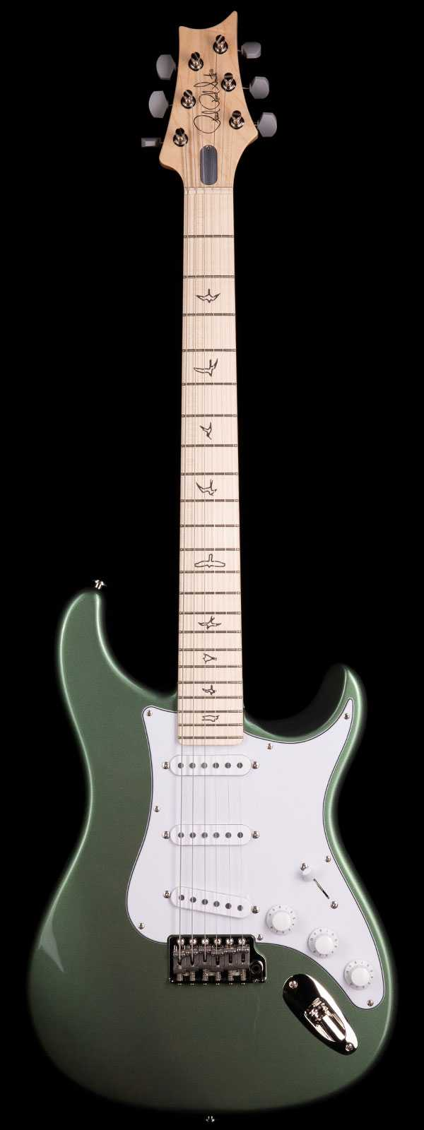PRS John Mayer Silver Sky Maple Fretboard Orion Green