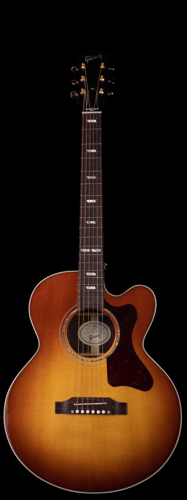 Gibson Parlor Modern EC Rosewood - Rosewood Burst