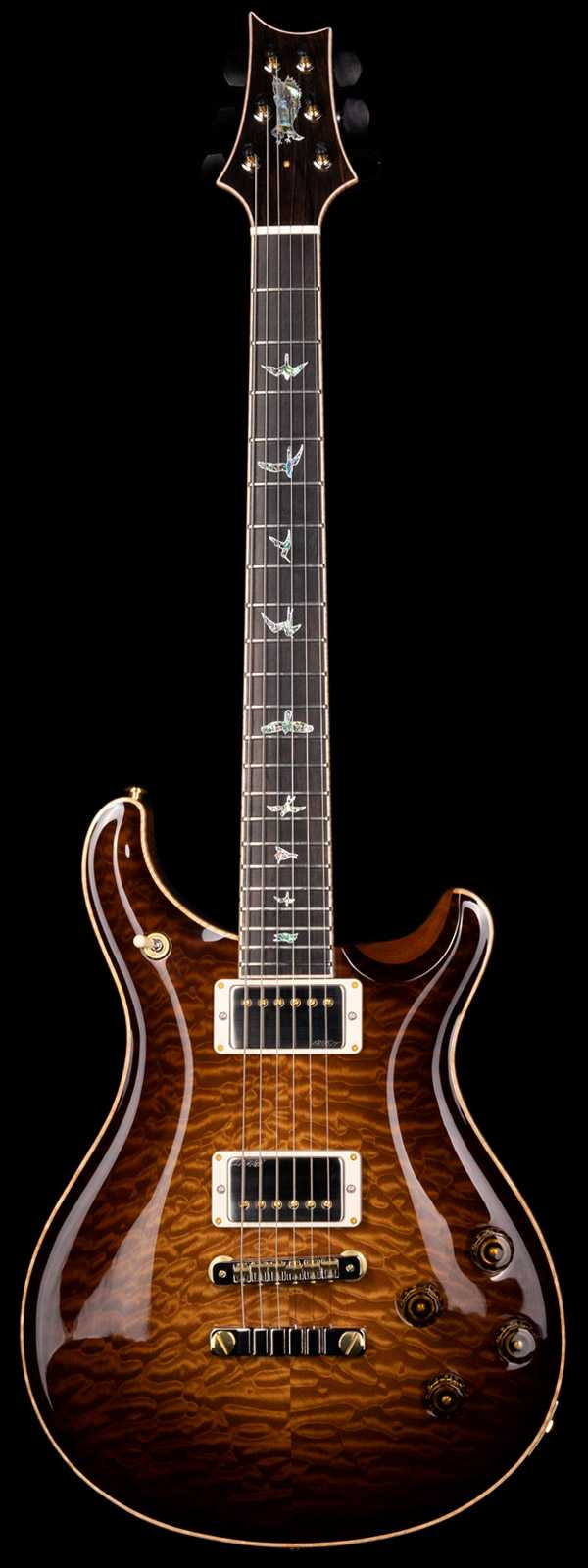 PRS Private Stock 8522 McCarty 594 Roasted Quilt Maple Top Roasted Flame Maple Neck McCarty Glow
