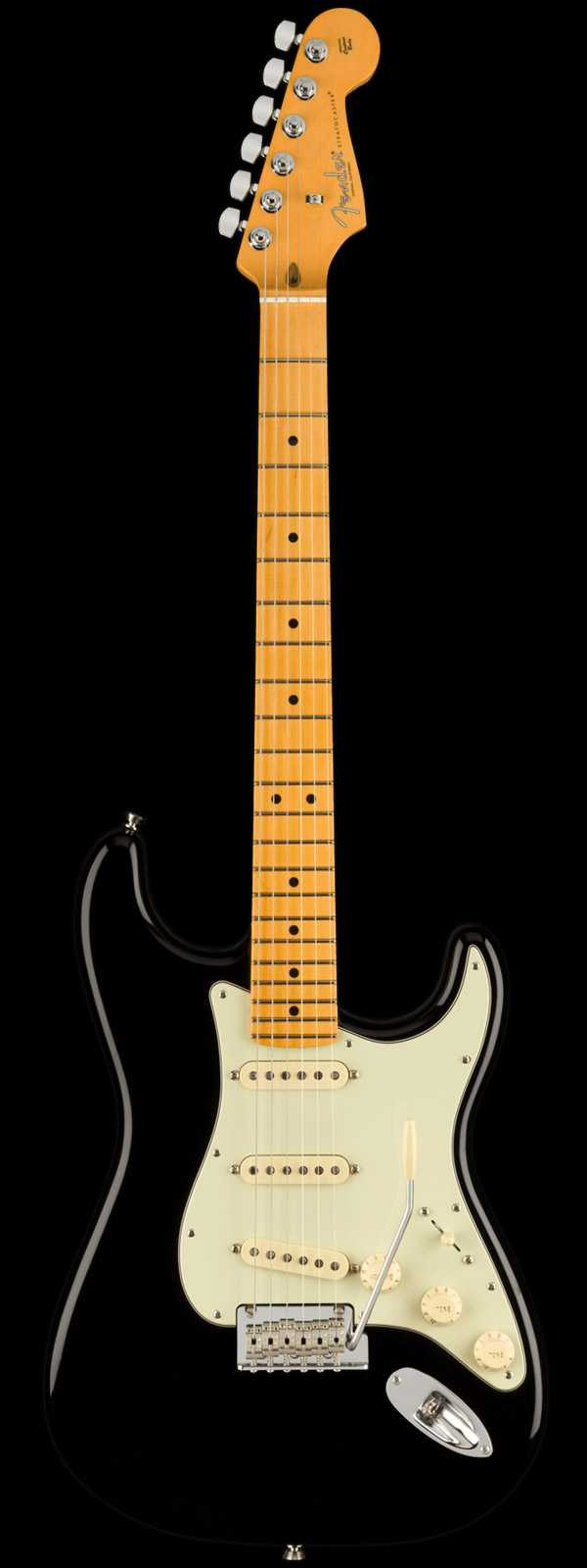 Fender American Professional II Stratocaster Maple Board Black