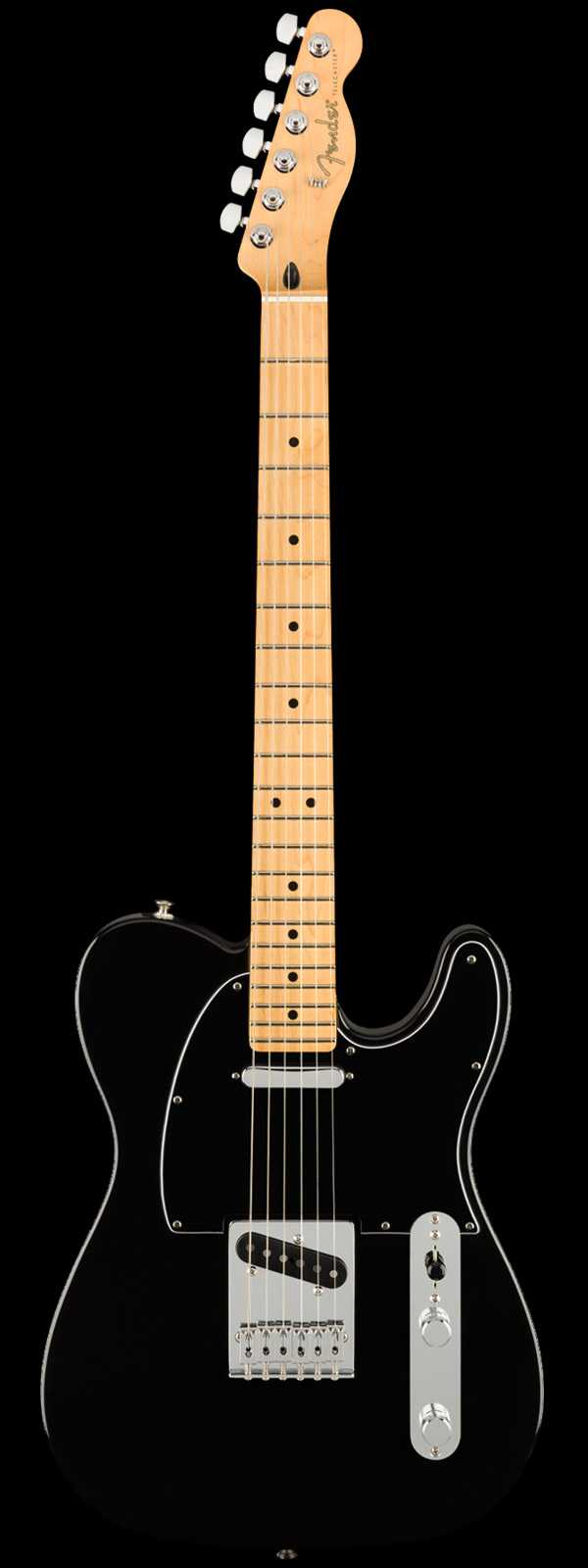 Fender Player Telecaster Alder Body Maple Neck Black