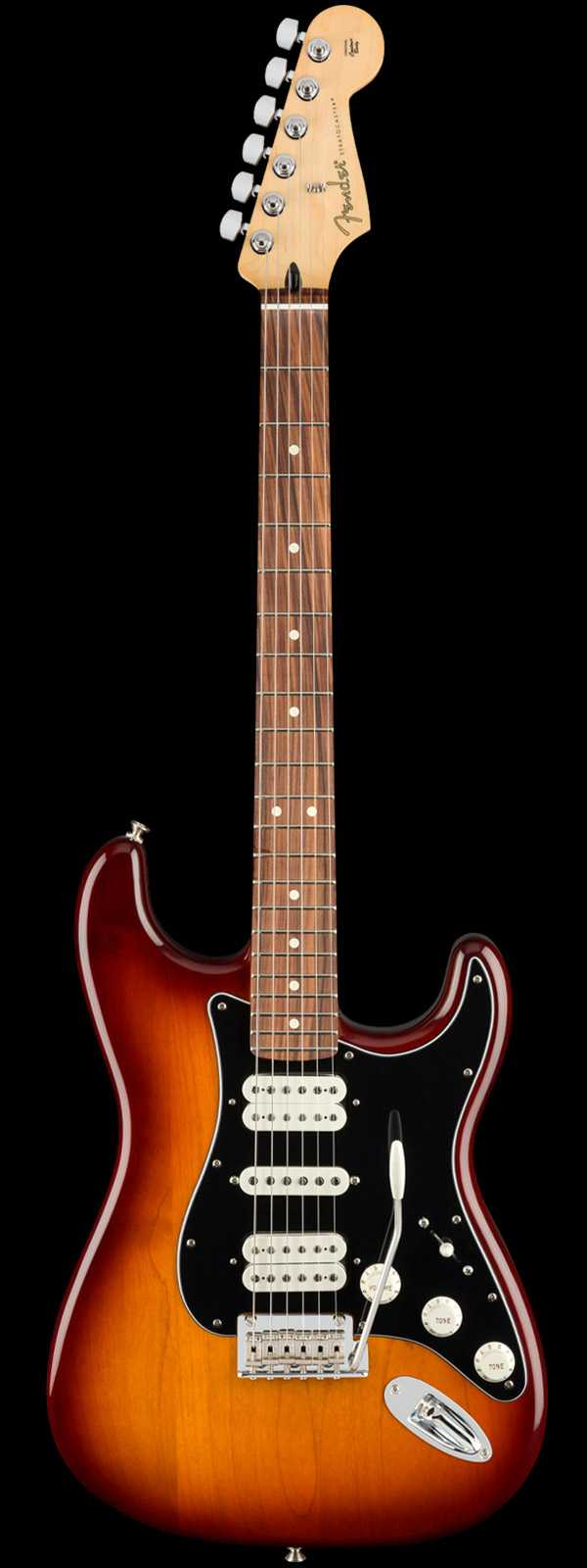 Fender Player Stratocaster HSH Electric Guitar Pau Ferro Tobacco Sunburst