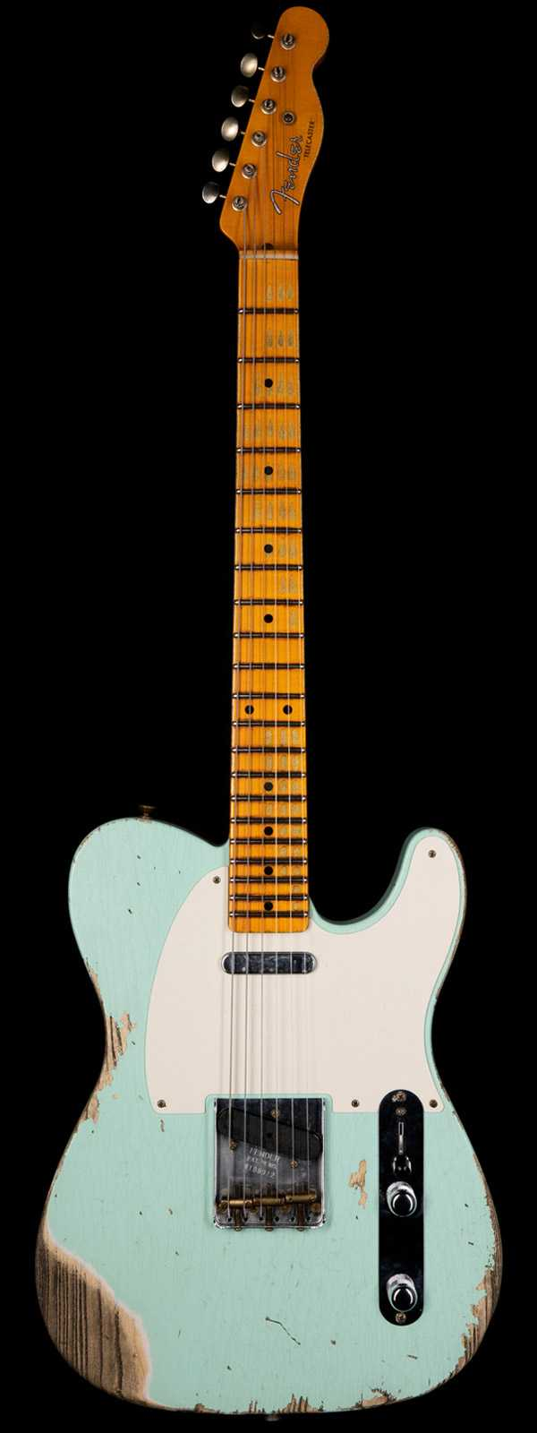 Fender Custom Shop 1952 Telecaster Heavy Relic Faded Surf Green