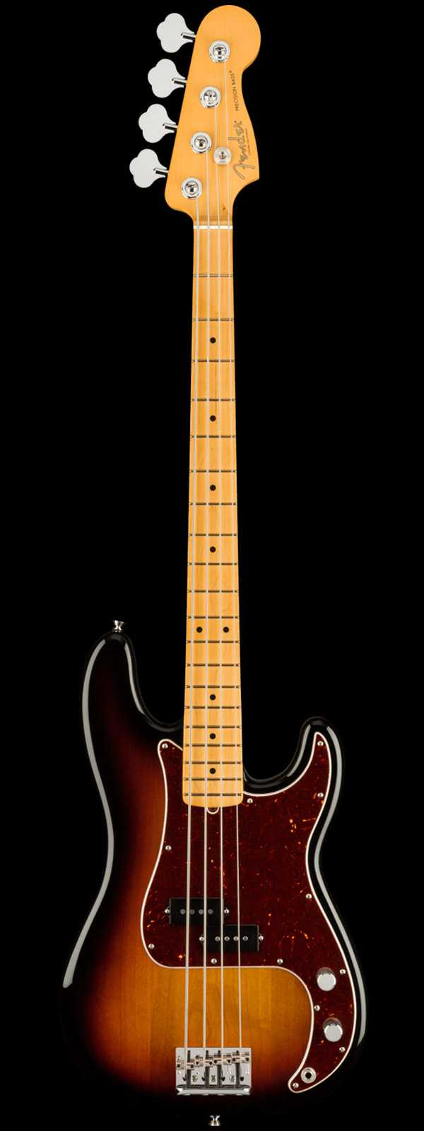 Fender American Professional II Precision Bass Maple Board 3-Tone Sunburst