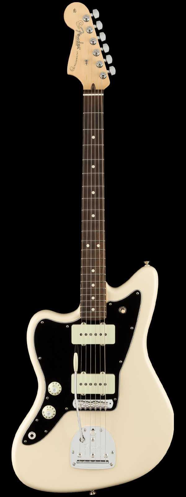 Fender American Pro Left-Handed Jazzmaster Rosewood Fingerboard Olympic White