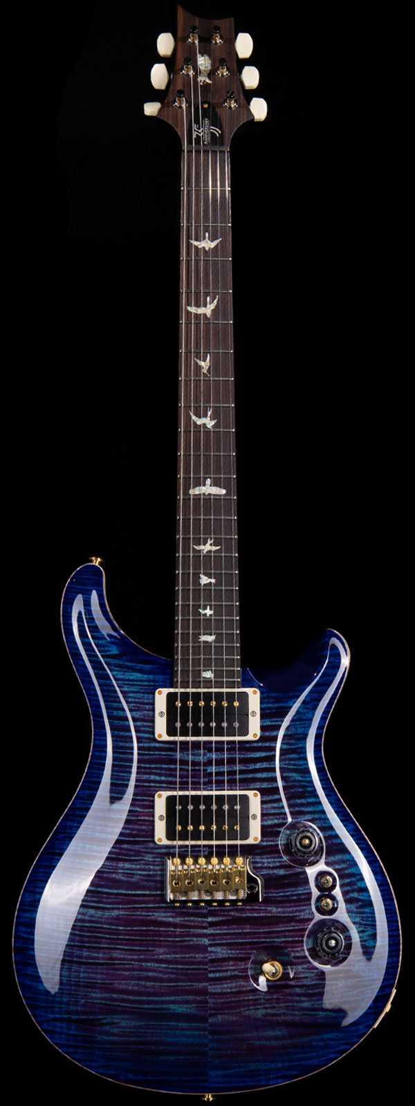 PRS 35th Anniversary Custom 24 10-Top Maple Rosewood Board Violet Blue Burst
