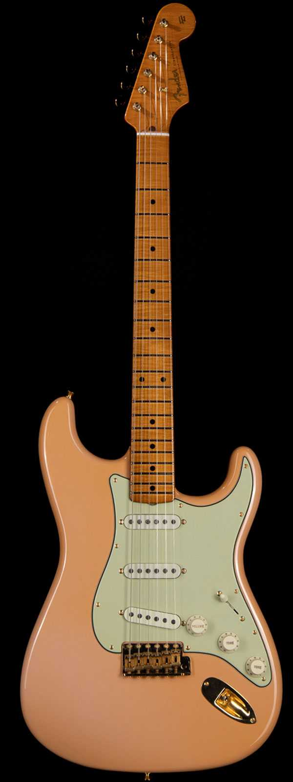 Fender Custom Shop Masterbuilt Dale Wilson '59 Strat Relic Shell Pink