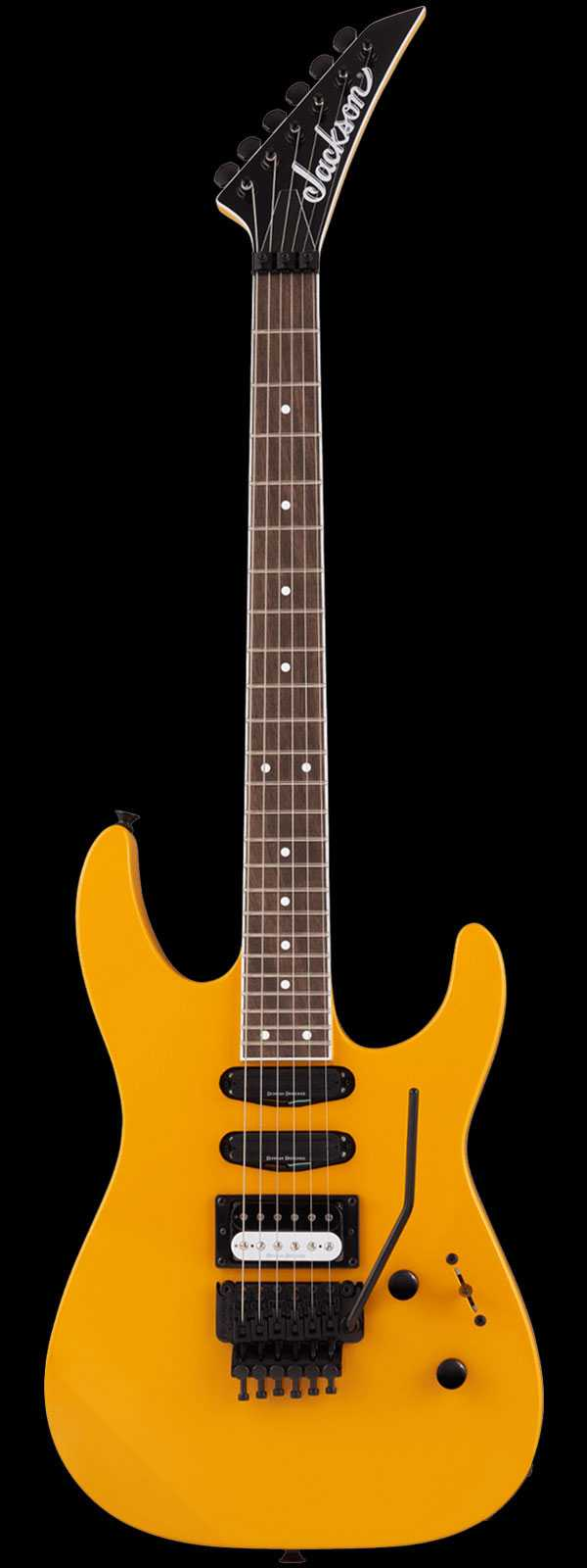 Jackson X Series Soloist SL1X Limited HSS Taxi Cab Yellow