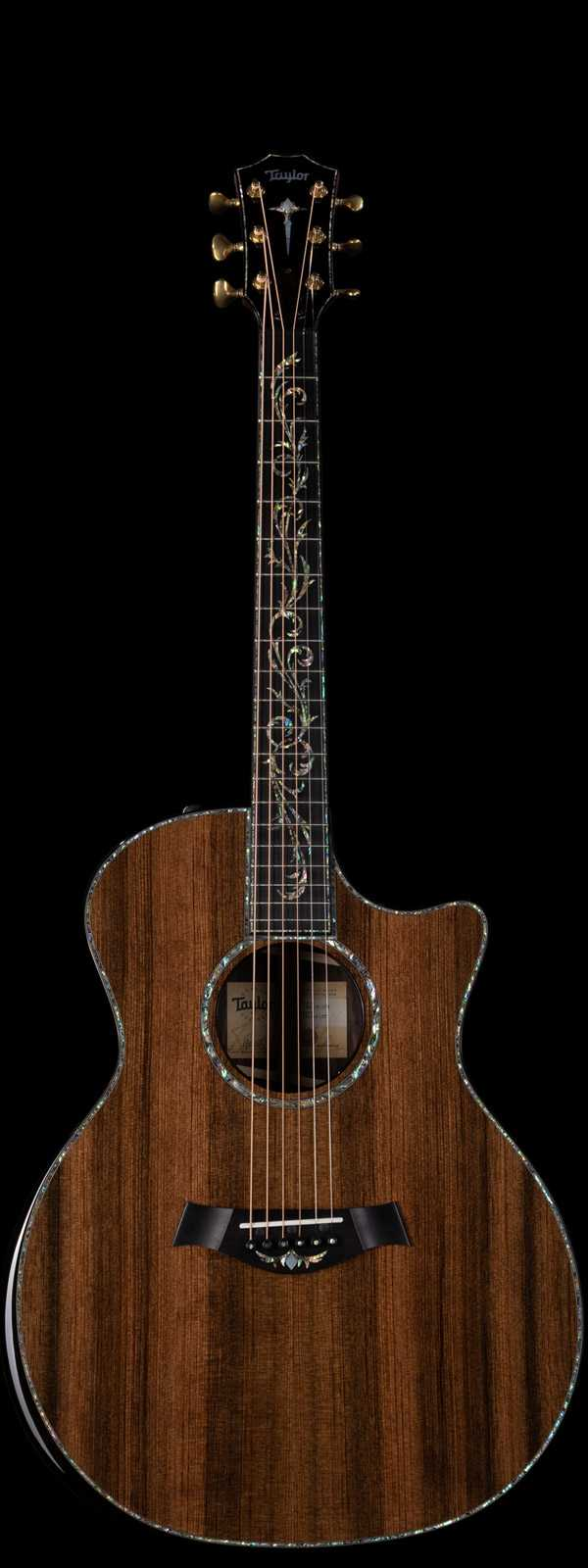 Taylor PS14ce LTD Presentation Series Acoustic-Electric Sinker Redwood Top Natural