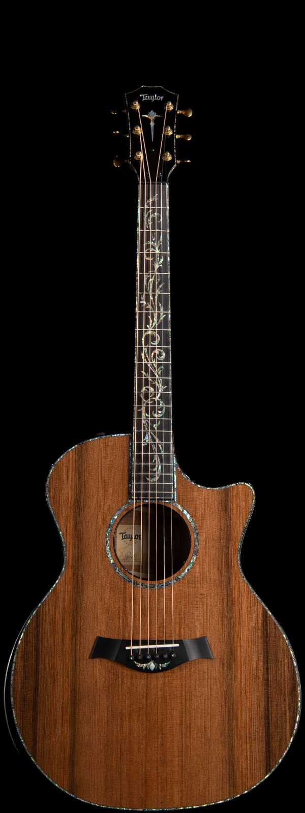 Taylor PS14ce Blackwood #1 Presentation Series Acoustic-Electric Sinker Redwood Top Natural