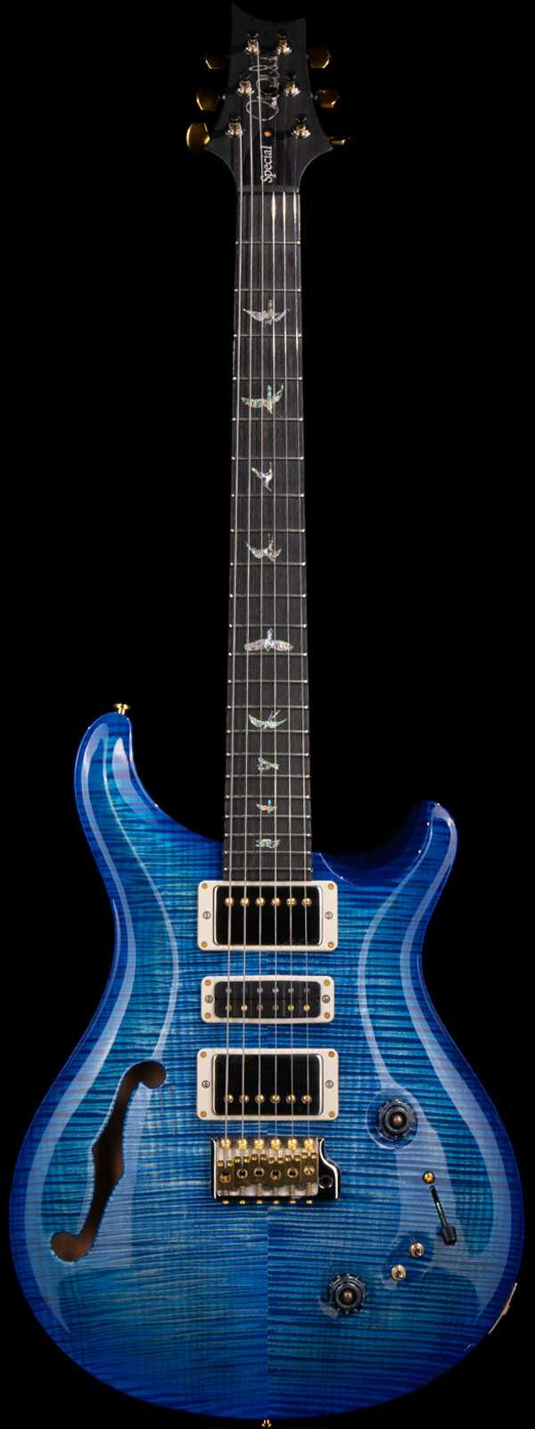 PRS Special 22 Semi-Hollow Artist Flame Maple Top Blue Burst