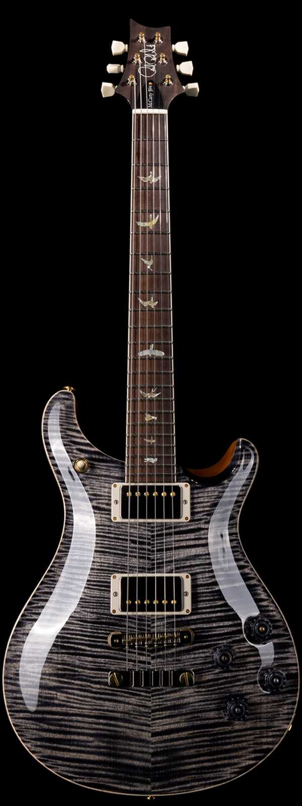 PRS Wood Library McCarty 594 Flame Maple 10 Top Brazilian Rosewood Board Charcoal