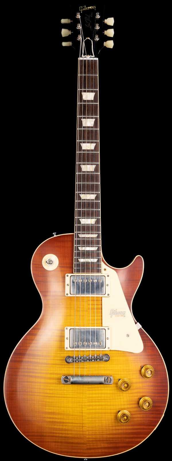 Gibson Custom Shop 60th Anniversary 1959 Les Paul Standard VOS Sunrise Tea Burst