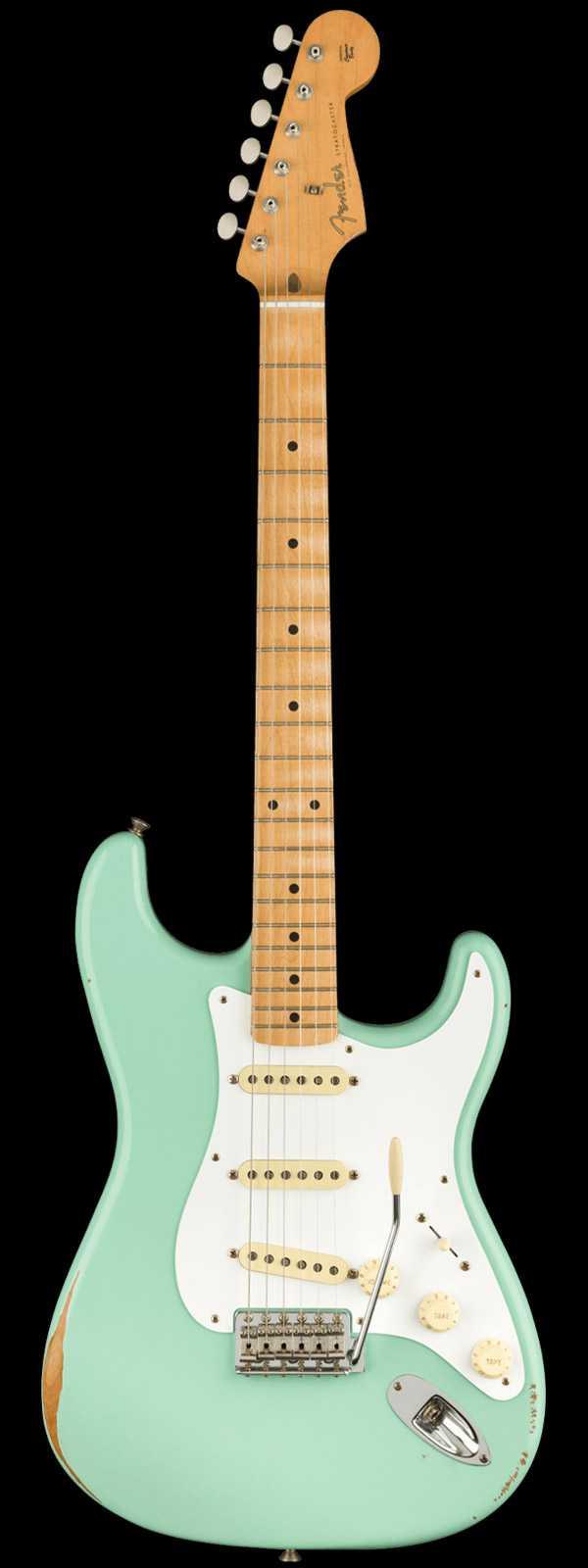 Fender Vintera Road Worn '50s Stratocaster Maple Fingerboard Surf Green