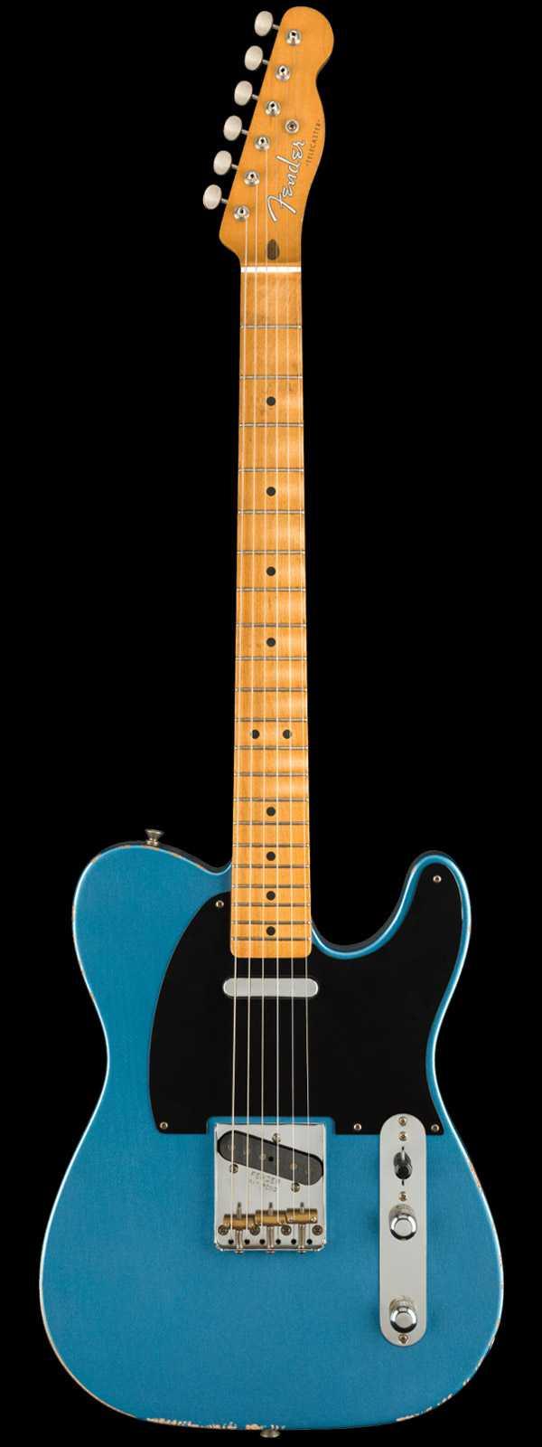 Fender Vintera Road Worn '50s Telecaster Maple Fingerboard Lake Placid Blue