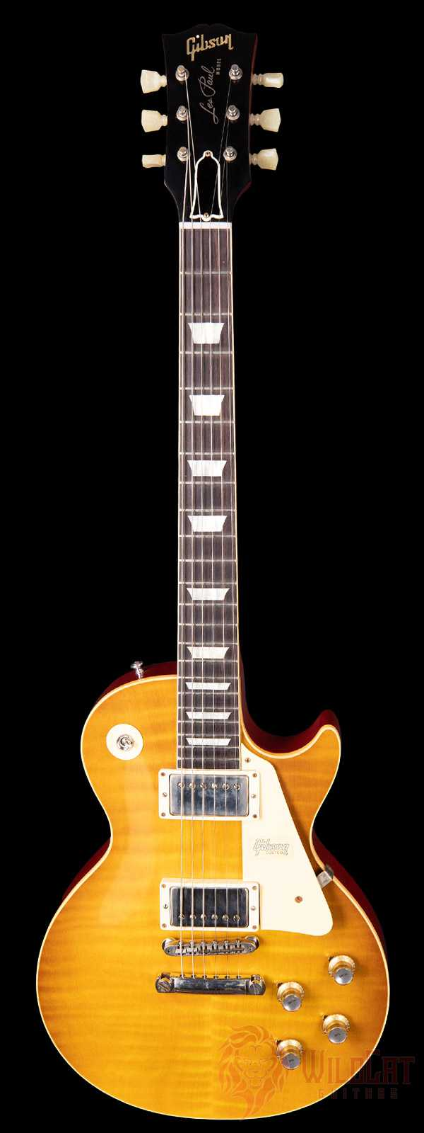 Gibson 1960 Les Paul Standard Honey Lemon Fade VOS