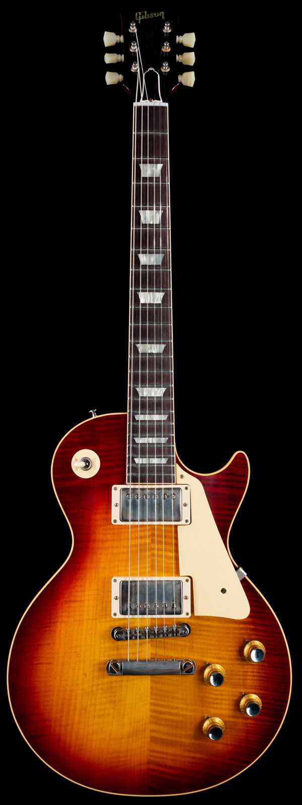 Gibson 1960s Les Paul Standard Honey Lemon Fade VOS