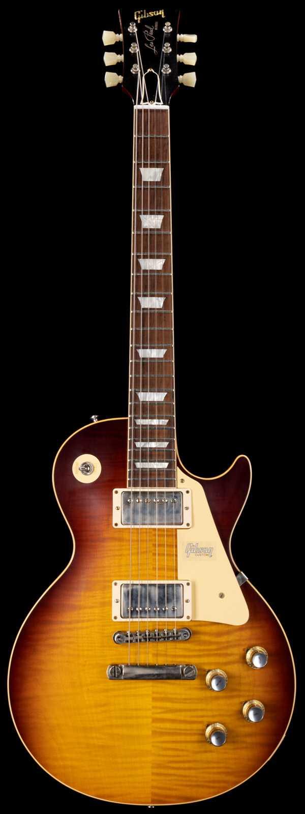 Gibson 1960 Les Paul Standard Dark Bourbon Fade VOS