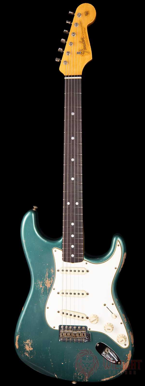 Fender Custom Shop Masterbuilt Greg Fessler 1964 Stratocaster Sherwood Green Metallic Relic