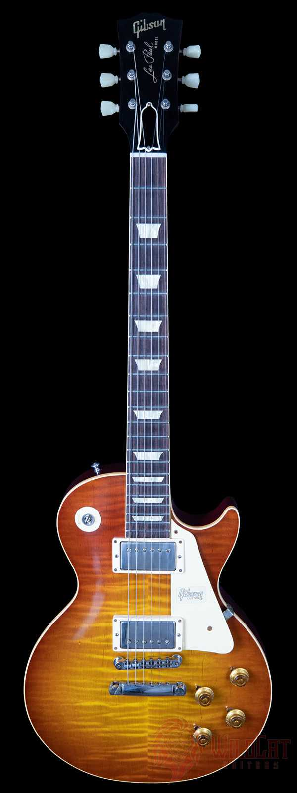 Gibson Custom Shop 60th Anniversary 1959 Les Paul Std Bolivian Sunrise VOS Used