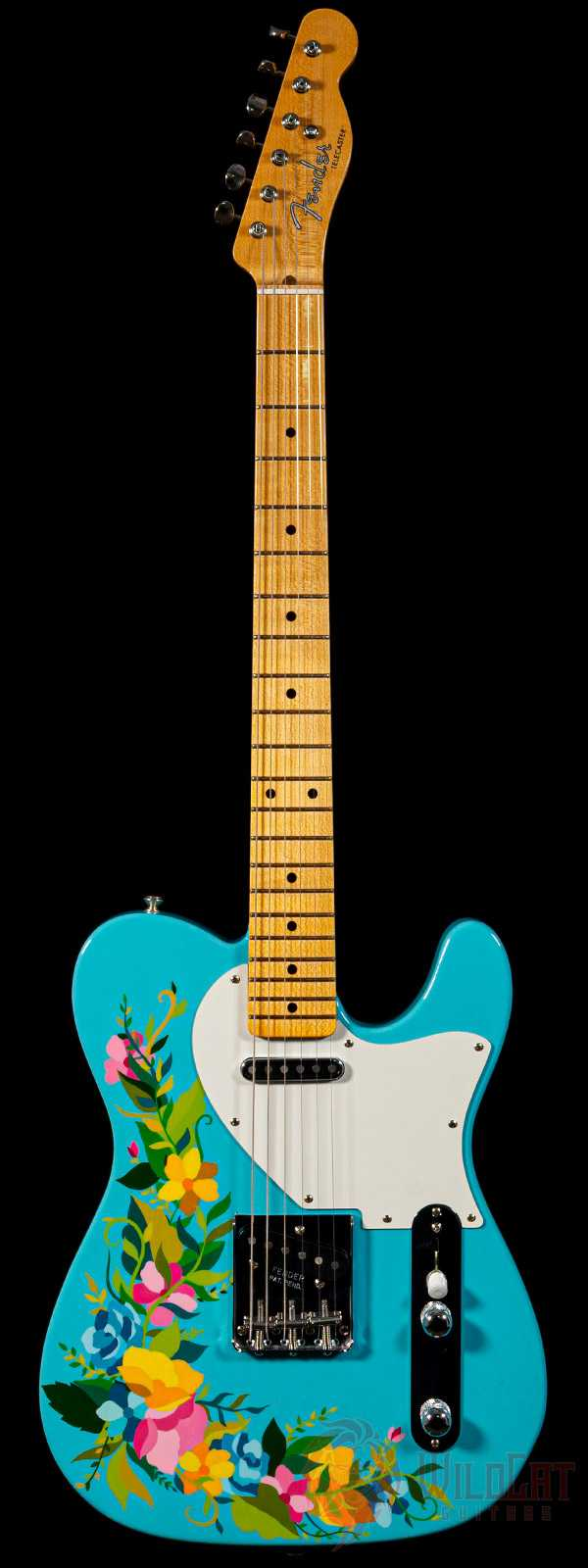Fender Masterbuilt Greg Fessler 1954 Telecaster NOS Madison Roy Flower Power Artwork