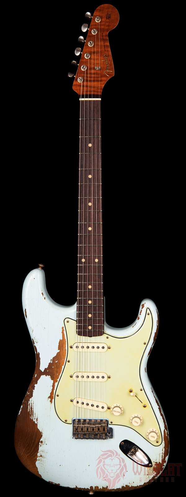 Fender Custom Shop Masterbuilt Carlos Lopez 1959 Stratocaster Sonic Blue Heavy Relic