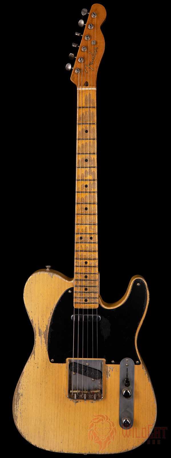 Fender Custom Shop Masterbuilt Dale Wilson Nocaster Smoked Nocaster Blonde Heavy Relic