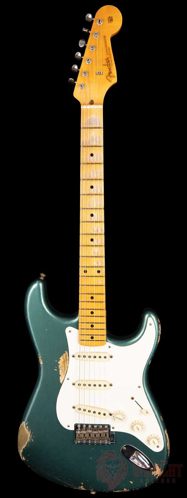 Fender Custom Shop Masterbuilt Greg Fessler 1957 Stratocaster Sherwood Green Metallic Relic