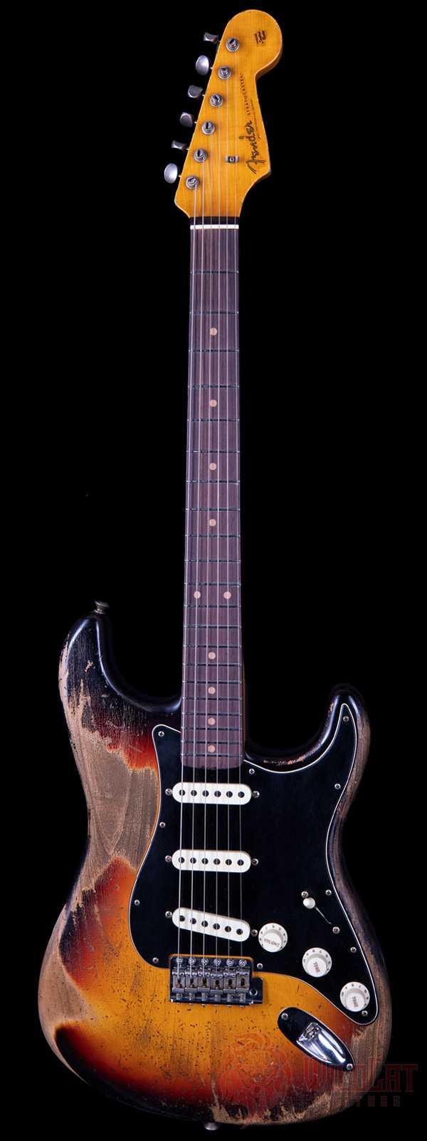 Fender Custom Shop Masterbuilt Kyle McMillin 1960 Stratocaster 3-Tone Sunburst Heavy Relic