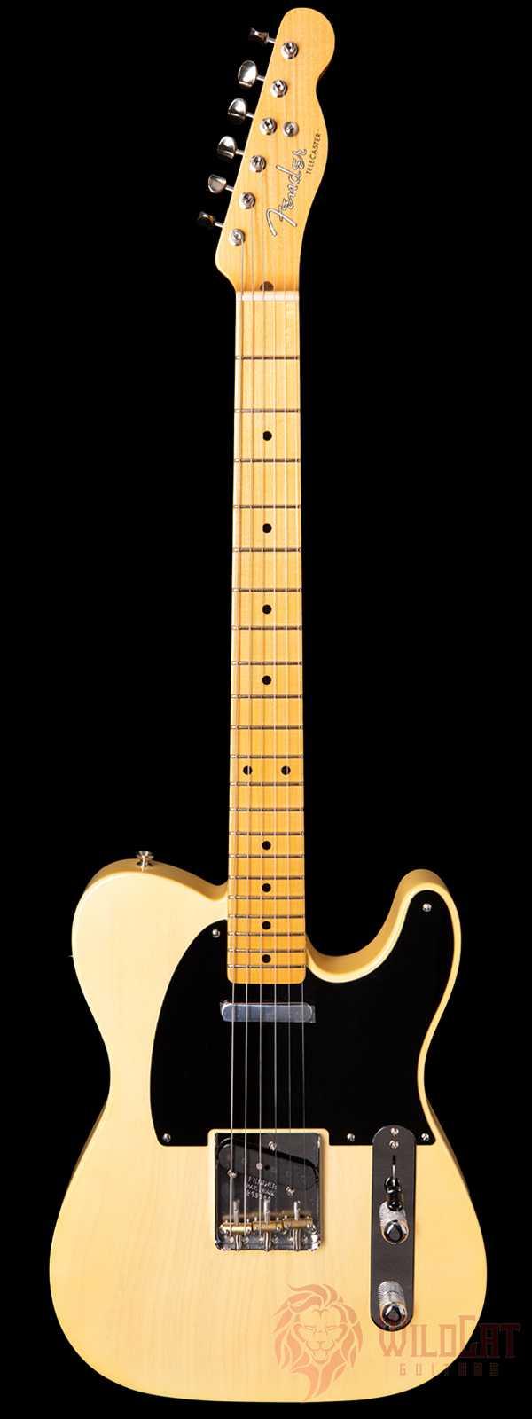 Fender Custom Shop LTD 1952 Telecaster Nocaster Blonde NOS