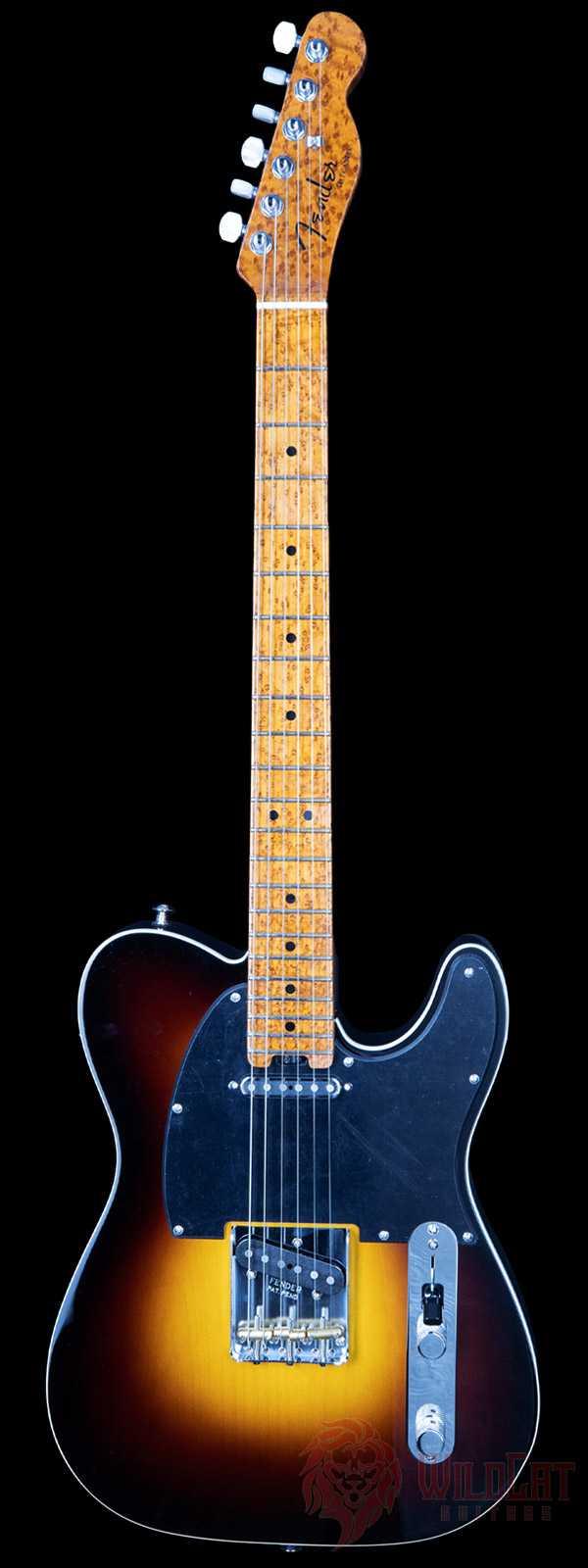 Fender Custom Shop LTD Elite Telecaster Roasted Birdseye Neck Wide Fade 2-Tone Sunburst NOS