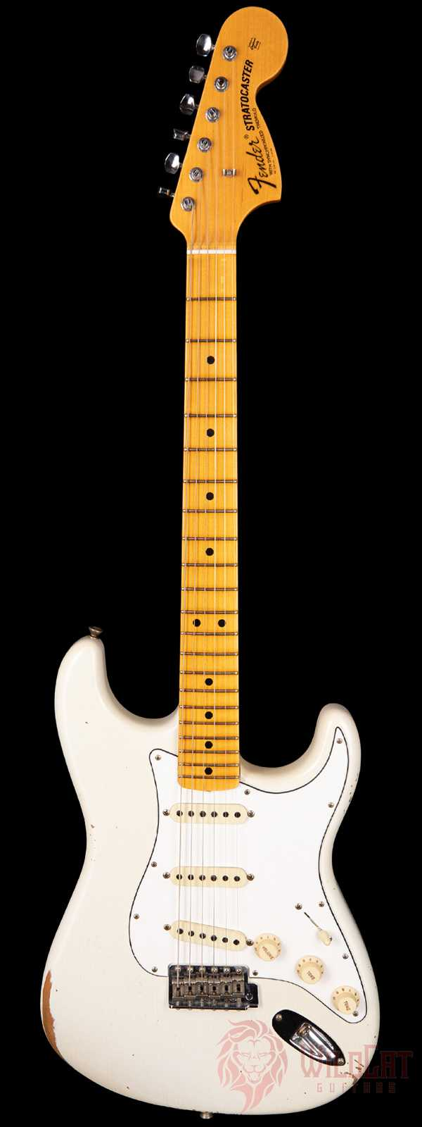 Fender Custom Shop 1969 Stratocaster Relic Olympic White