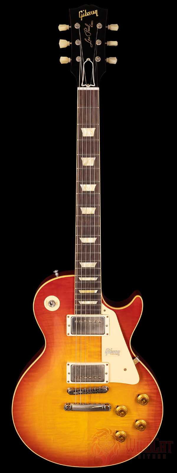 Gibson Custom Shop 1958 Les Paul Standard VOS Bolivian Washed Cherry