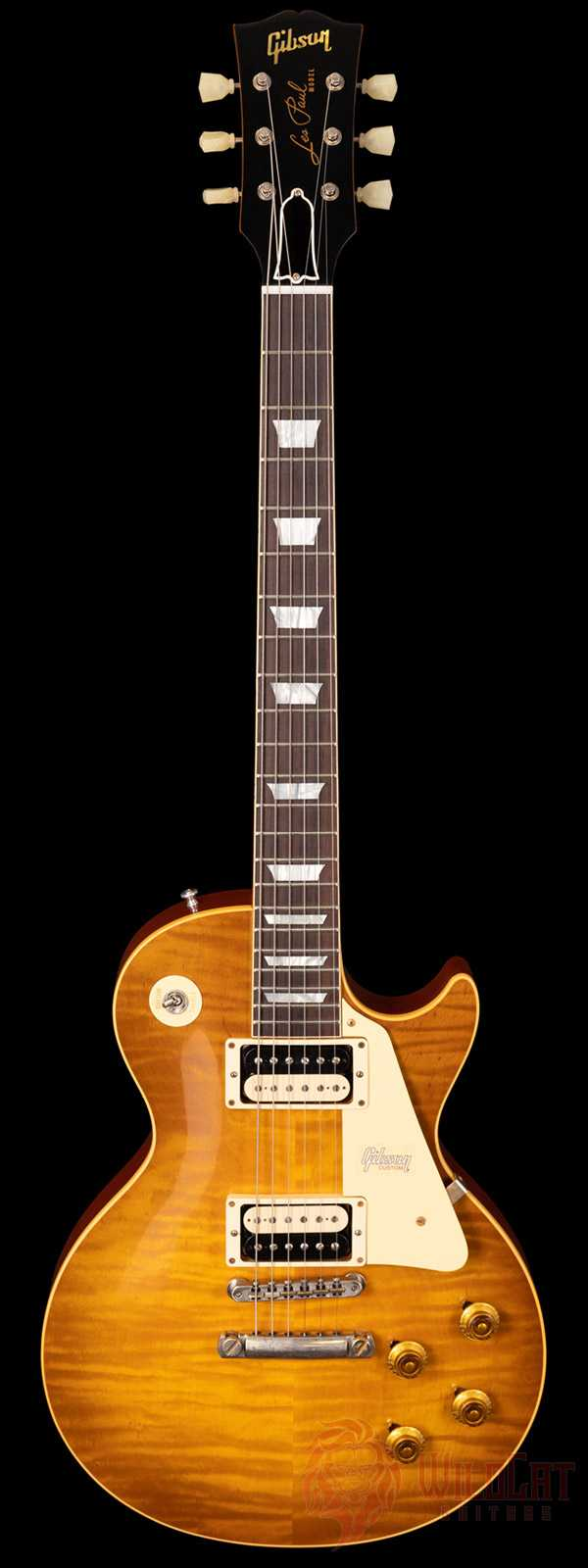Gibson Custom Shop 1959 Les Paul Standard with Brazilian Fretboard VOS Double Dirty Lemon