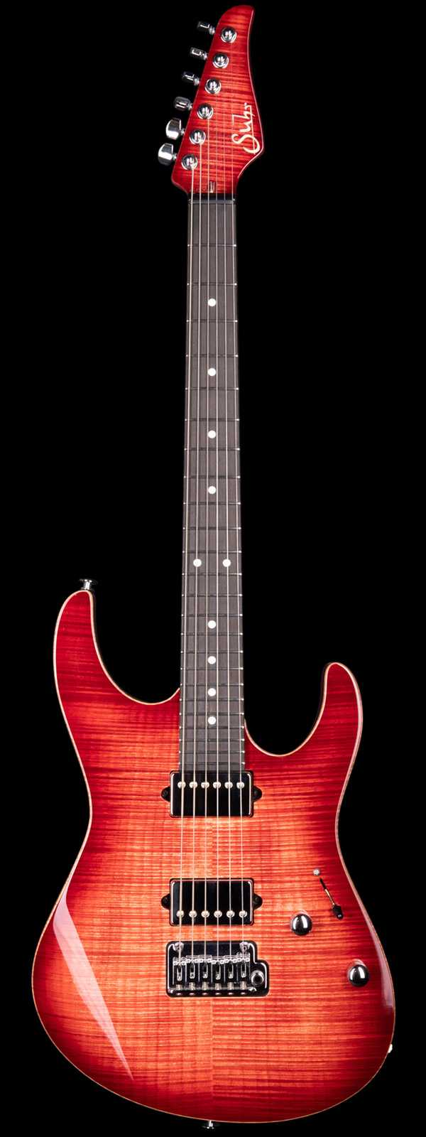 Suhr Modern Faded Trans Wine Red Burst