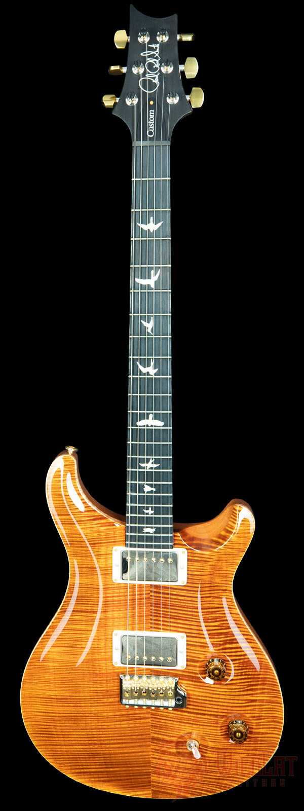 PRS Wood Library Custom 22 Yellow Tiger Used